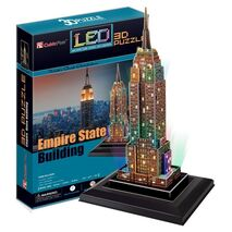 CubicFun - Empire State Building (LED)