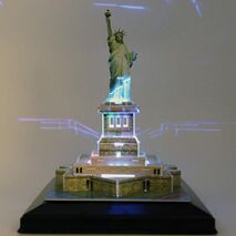 CubicFun - Statue Of Liberty (LED)
