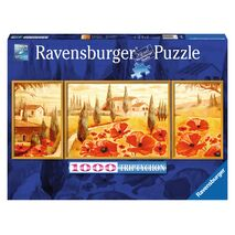 Ravensburger - Poppies in Tuscany