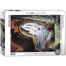 Eurographics - Soft Watch at the Moment of Its First Explosion, Salvador Dali