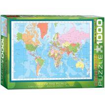 Eurographics - Modern Map of the World