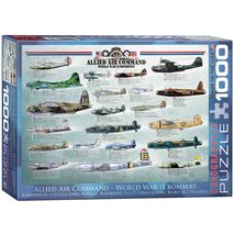 Eurographics - Allied Air Command WWII Bomber