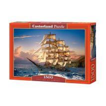 Castorland-Sailing at Sunset