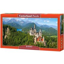 Castorland - View of the Neuschwanstein Castle
