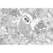 Eurographics - Holly Jolly Owl