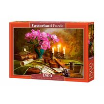 Castorland - Still Life With Violin And Flowers