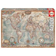 Educa - The World, Executive Map