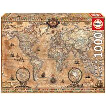 Educa - Antique World Map