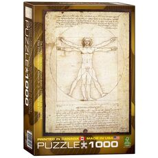 Eurographics - The Vitruvian Man, Da Vinci