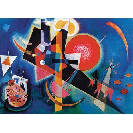 Eurographics - In Blue, Wassily Kandinsky