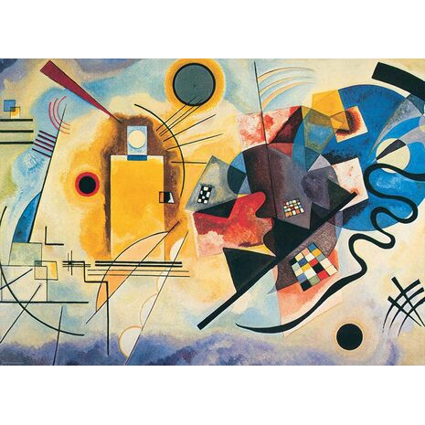 Eurographics - Yellow, Red, Blue, W. Kandinsky