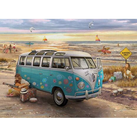 Eurographics - The Love & Hope VW Bus
