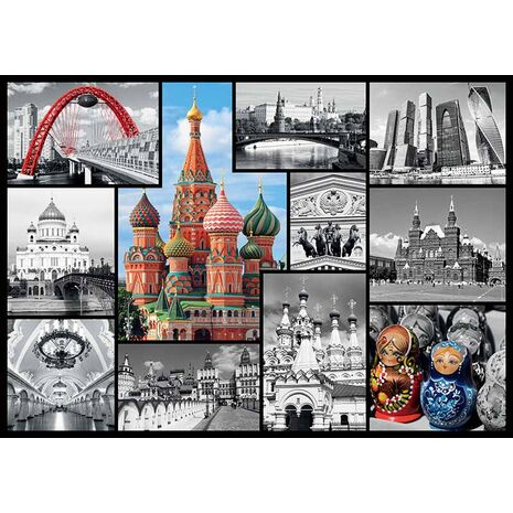 Trefl - Moscow - Collage