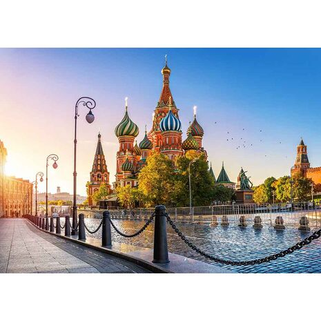 Castorland - Saint Basil`s Cathedral, Moscow