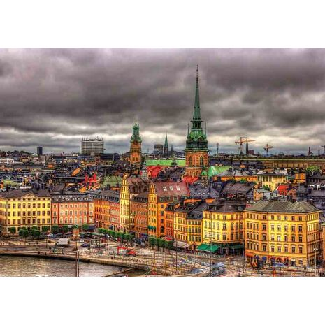 Educa - Views of Stockholm, Sweden