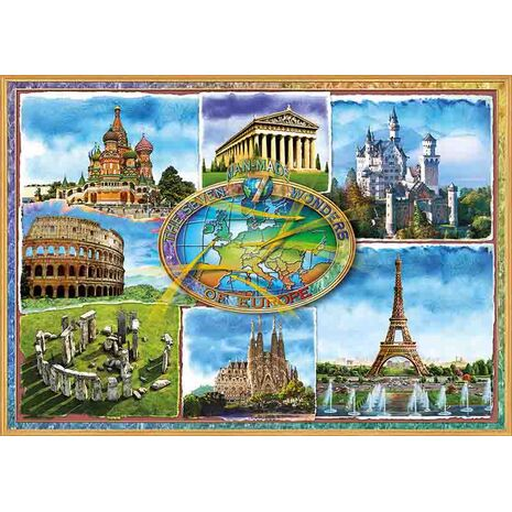 Educa - Seven Wonders of Europe