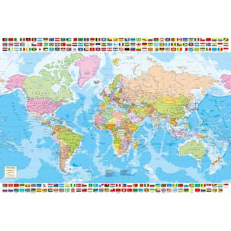 Educa - Political Worldmap